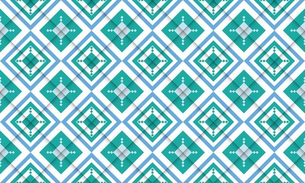Einfaches design des geometrischen nahtlosen musters