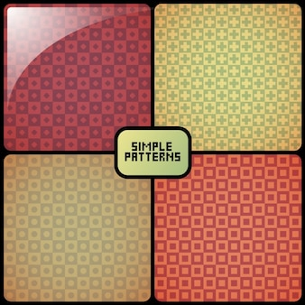 Einfaches geometrisches muster