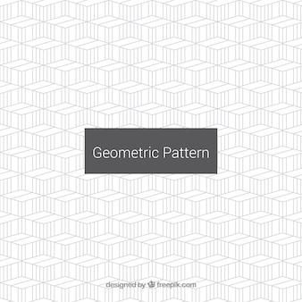 Einfaches muster von geometrischen linien
