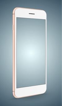 Einfaches Platzbild des Smartphone-Modells in Schirm Smartphone.