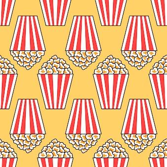 Einfaches popcorn musterdesign