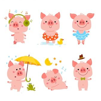 Einfaches schweinchen.