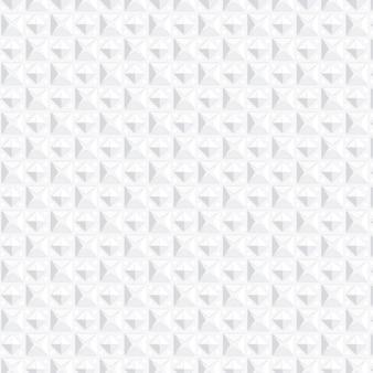 Einfarbiges weißes muster mit formen