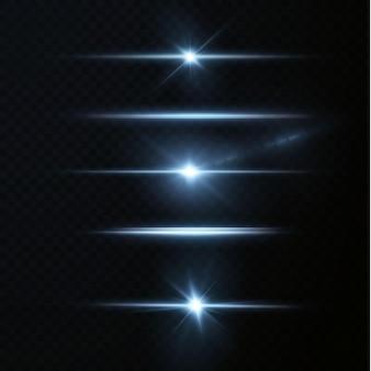 Einführung in die effekte von neonlichtsets