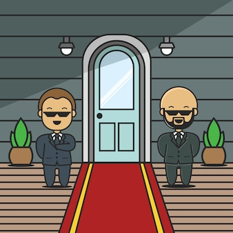 Eingangswächter charakter