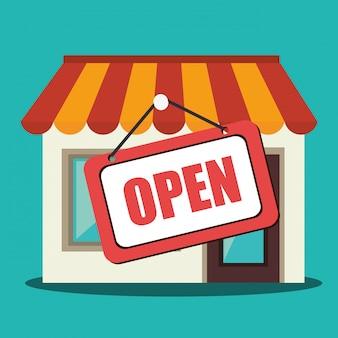 Einkaufen, verkauf und e-commerce