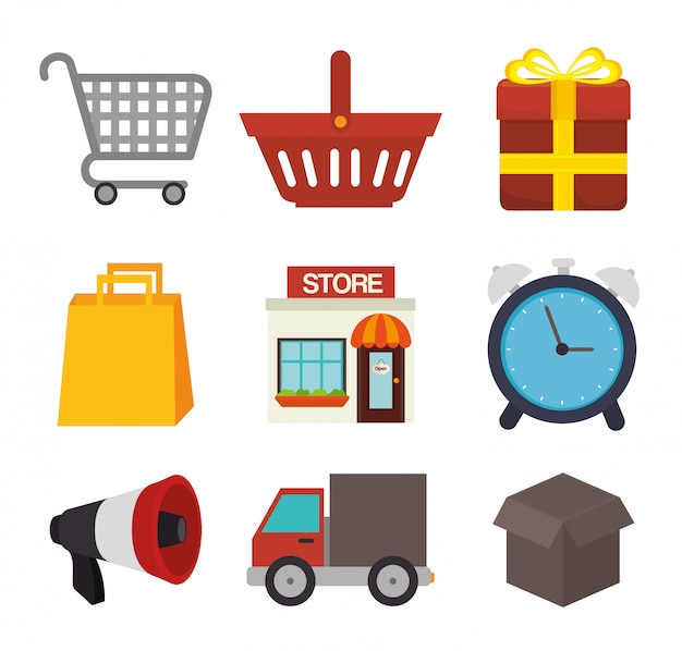 Einkaufsangebote und verkauf