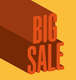 Einkaufsdesign über gelber hintergrundvektorillustration