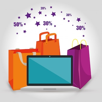 Einkaufstaschen mit laptop zum verkauf rabatt