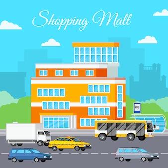 Einkaufszentrum urban composition