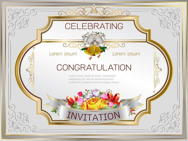 Einladung rahmen hochzeit