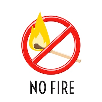 Einschränkung und verbot von funken und flammen