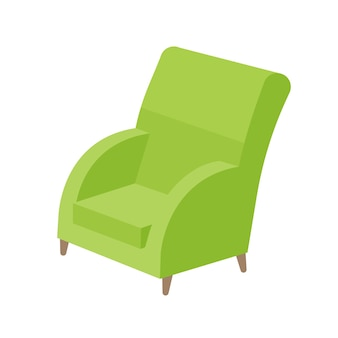 Einsitzer-sofa.
