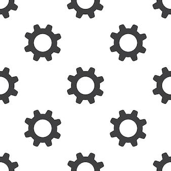 Einstellungen, nahtloses vektormuster, bearbeitbar kann für webseitenhintergründe verwendet werden, musterfüllungen