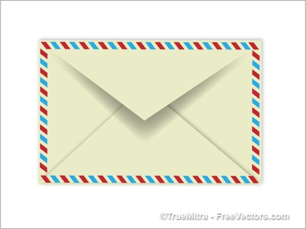 Einzigen vertraulichen envelope-vektor