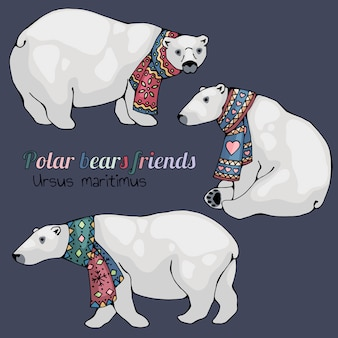 Eisbären.