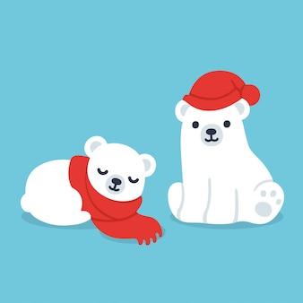 Eisbärenjunge