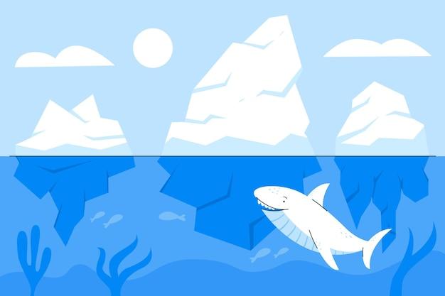 Eisbergpackung