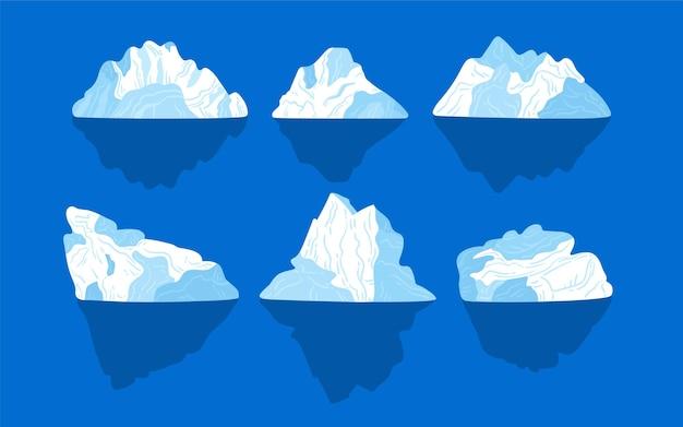 Eisbergsammlung
