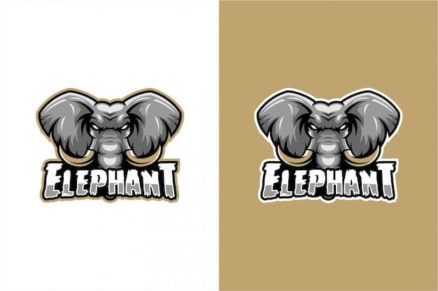 Elefantenkopf vektor