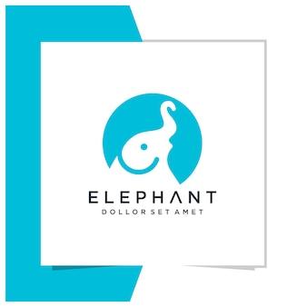Elefantenlogodesign