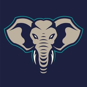 Elefantenmaskottchen