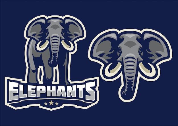 Elefantenmaskottchenset