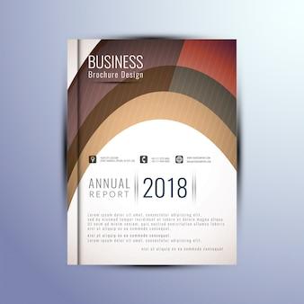 Elegante business broschüre vorlage
