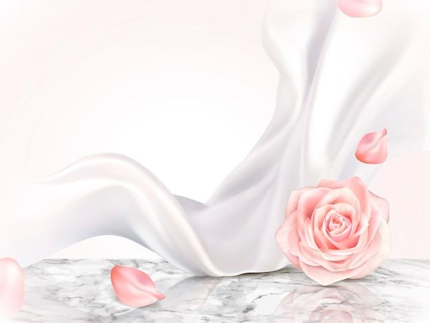 Elegante dekorative hintergrundillustration