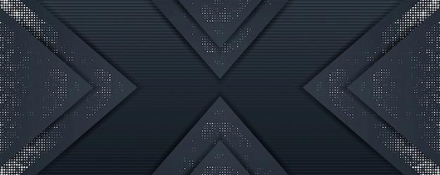 Elegante dunkle hintergrundschablonen-überlappungsschicht mit silbernem funkeln
