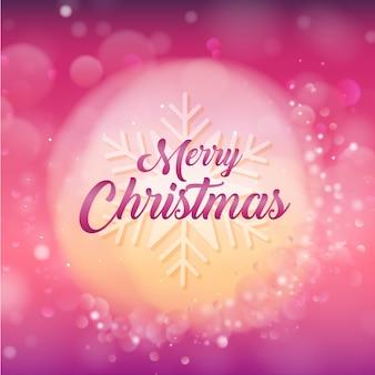 Elegante frohe weihnacht-hintergründe mit lichteffekt