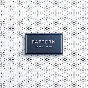 Elegante Linie Blumenmuster Hintergrund Design