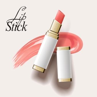 Elegante lippenstiftillustration