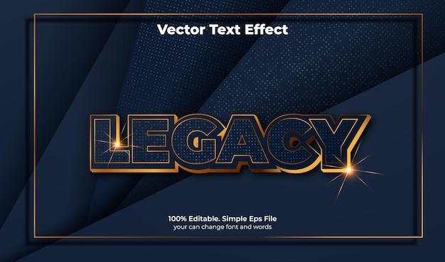 Elegante luxustextur mit texteffekt