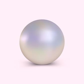 Elegante realistische perle