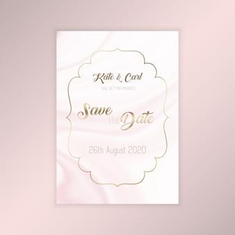 Elegante save the date einladung