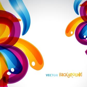 Elegante vektor eps10 bunte hintergrund design mit platz für ihren text