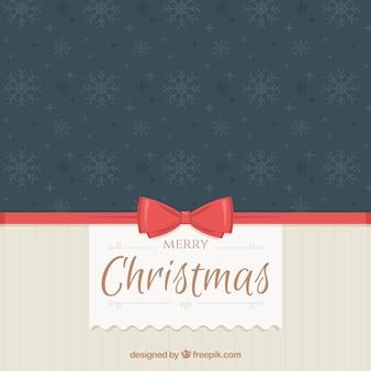Elegante vintage christmas hintergrund mit bogen
