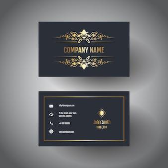 Elegante visitenkarte