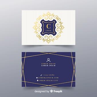 Elegante visitenkartenvorlage