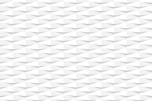 Elegante weiße sechseckige geometrische hintergrundtapete.