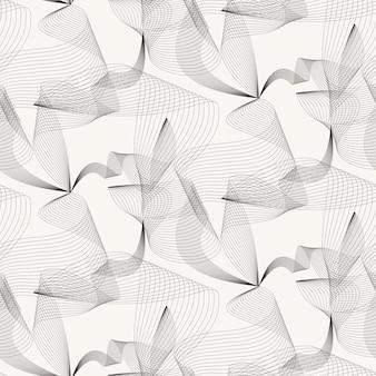 Eleganter abstrakter beige hintergrund mit exquisiten stromlinien