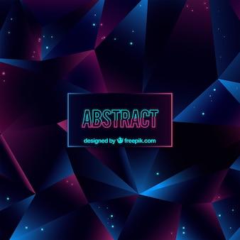 Eleganter abstrakter hintergrund mit geometrischem design