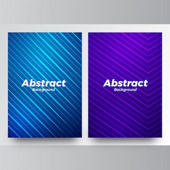 Eleganter abstrakter vektorblauhintergrund