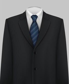 Eleganter anzug und smoking mit fliege