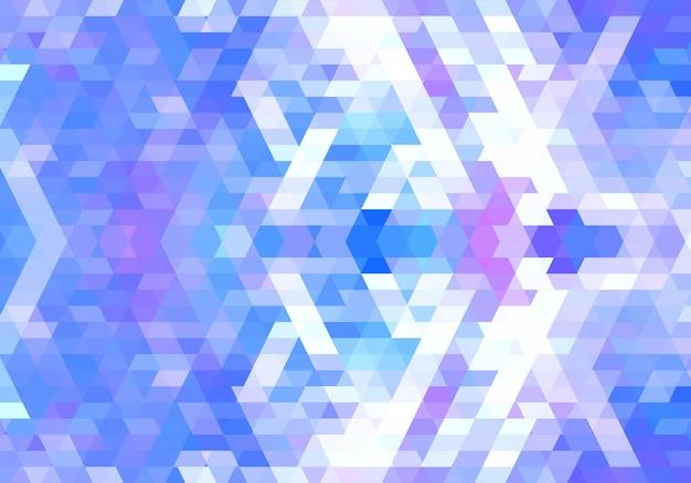 Eleganter bunter geometrischer formenhintergrund