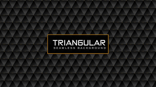 Eleganter dreieckiger vip-musterhintergrund mit glanzgoldeffekt