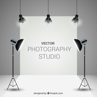 Eleganter fotostudio