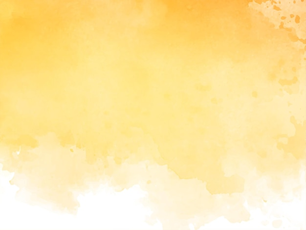 Eleganter gelber aquarellbeschaffenheitshintergrund