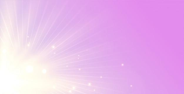 Eleganter hintergrund der leuchtenden strahlen mit lichtstrahlstoß
